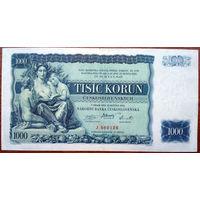 Чехословакия, 1000 крон 1934 год, Р26