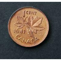1 цент Канада 1941