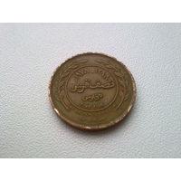 Иордания 5 филсов 1978