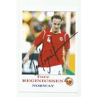 Tore Reginiussen(Норвегия). Фотография с живым автографом #2