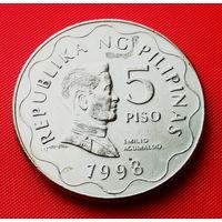 26-17 Филиппины, 5 песо 1998 г.