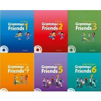 "Grammar Friends 1 - 6 (рабочие тетради, книги для учителя) + Family аnd Friends, уровни 1 - 5 + First Friends - 1, 2 + серия адаптированных книг ""Английский клуб"""
