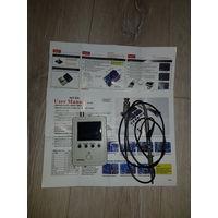 Компактный осциллограф, хороший щуп с зацепом, цветные подробные инструкции. Отдаю без блока питания (9вольт).