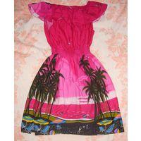 Платье новое на пляж р.50 или более.