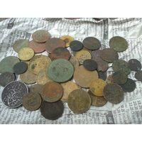 С Рубля! 45 монет, до 1959 года+ Бонус!  На опыты, чистку