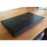 "Acer Aspire 5560G 15.6"" 1366 x 768 TN+Film, мощный процессор AMD A8 3500M 1500 МГц, 4 ГБ, HDD 500 ГБ, Windows 7 Home Basic, видеокарта 1гб AMD Radeon HD 6470M, 4 ядра, DVD, цвет крышки черный рифлены"