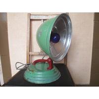 Советская настольная рефлекторная лампа для прогревания.1962 г.