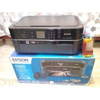 Принтер-сканер Epson TX650 (не рабочий)