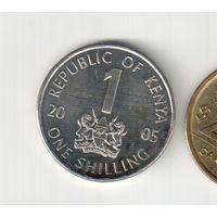 1 шиллинг 2005 года Кении 20-22