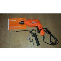 Дрель электрическая ударная PATRIOT FD550h , в упаковке, на гарантии, полный комплект. Предназначена для сверления отверстий при проведении строительных, отделочных, столярных, слесарных и др.