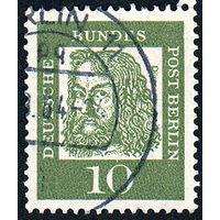 113: Германия (Западный Берлин), почтовая марка, 1961 год
