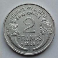 Франция 2 франка. 1948