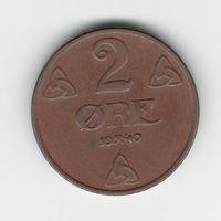 Норвегия 2 эре 1940 года