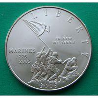 1 доллар 2005 Marines.