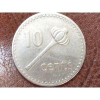 10 центов 1969 Фиджи