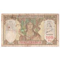 Таити 100 франков образца 1939 года. Редкая!