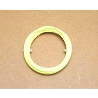 Пластиковая нить PLA 1.75мм (3.40м) (жёлтый цвет)