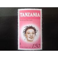 Танзания 1987 женская прическа