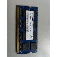 Оперативная память для ноутбука SO-DIMM DDR3 2Gb Elpida PC-10600 EBJ21UE8BDS0-DJ-F (906349)