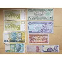Набор банкнот мира UNC/aUNC. Распродажа