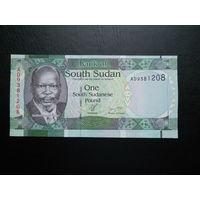 Южный Судан 1 фунт. 2011 г.