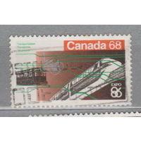 Поезда железная дорога экспо Канада 1986 год  лот 9 менее 15% от каталога