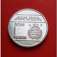 26-30 Аруба, 1 флорин 2014 г. Единственное предложение монеты данного типа на АУ
