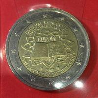 Бельгия, юбилейные 2 евро 2007г.