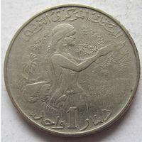 Тунис 1 динар 1976