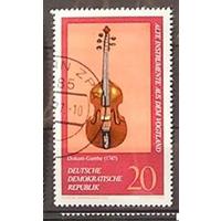 ГДР. Музыкальные инструменты.  1977 года. (АНД