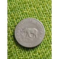 Либерия 5 цент 1961 г