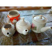 Чайники керамика 4шт см фото есть дефекты