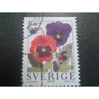 Швеция 1997 цветы