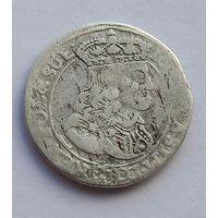 6 грошей шостак 1667 Ян ll Казимир
