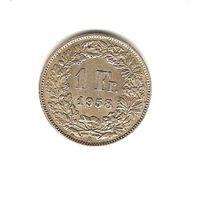 1 франк 1958 г.