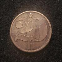 Чехословакия, 20 геллеров 1978