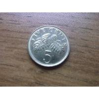 Сингапур 5 центов 2005