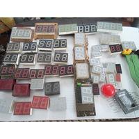 Светодиодные индикаторы, светодиоды, матрицы ассорти 88 восьмерок!