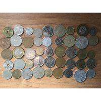 Лот монет из Азии
