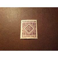 Французский Мадагаскар 1947 г.Номинал (Chiffre-Taxe).