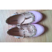 Туфельки светло-розовые