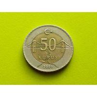 Турция. 50 курушей 2009. (1).