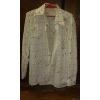 Рубашка мужская раритет 1980 г.