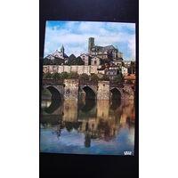 Почтовая карточка  подписанная (LIMOGES (Haute-Vienne)). 2 распродажа