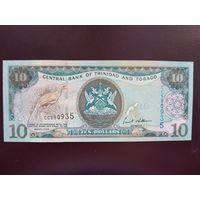 Тринидад и Тобаго 10 долларов 2006 UNC