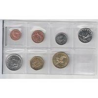 Набор монет Малави (1995-1996 год)  1,2,5,10,20,50 тамбала и 1квача всего 7 монет