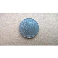 Италия 100 лир, 1978г. **