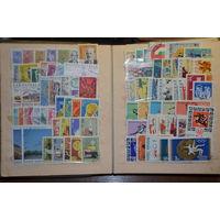 Лот марок. 1385 марок + 24 блока( в основном чистые ).См. описание лота.