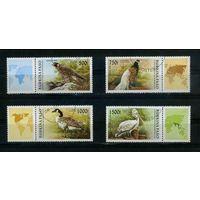 Буркина-Фасо 1996г. птицы. 4м.