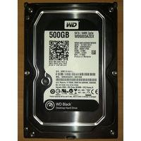 """Жёсткий диск (винчестер) HDD 3.5"""" WD Black WD5003AZEX 500 GB"""